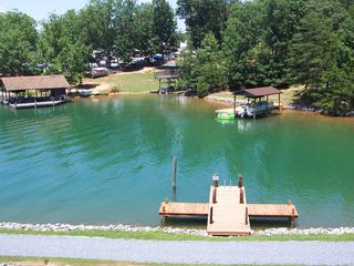 Huddleston house photo - Enjoy the swimming/fishing dock. You can watch the kids from our back deck!