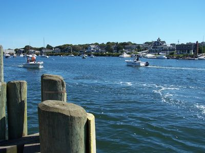 Falmouth Harbor - a stone's throw away
