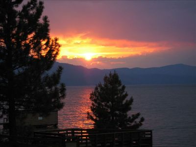 Al Tahoe cabin rental - View from cabin