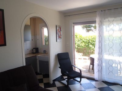 La Franqui. Apartment 50 meters away from the beach, Terasse, Wifi