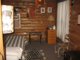 Woodstock cabin photo - Main floor bedroom