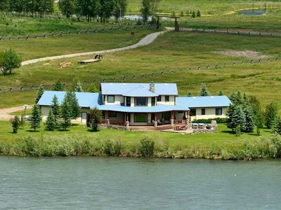 Home on South Fork of the Snake River