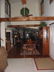 Burnsville cabin photo - Open Dining Area