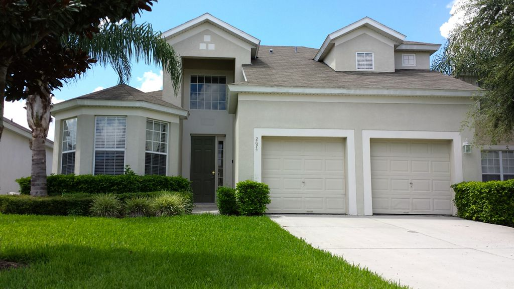 A magical 5 bedroom 5 bathroom pool home 2 vrbo for 5 bedroom house with pool