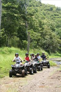 ATV excursion in the jungle