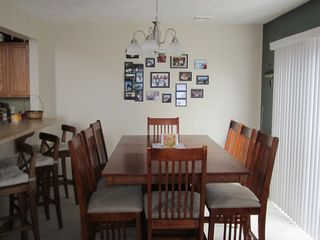Tannersville townhome photo - Breakfast Bar & Dining Room