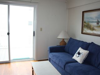Ocean Colony Ocean City townhome photo - 1st floor master suite with full murphy bed and queen sleeper