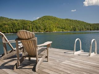 Cashiers house photo - Private Boat Dock