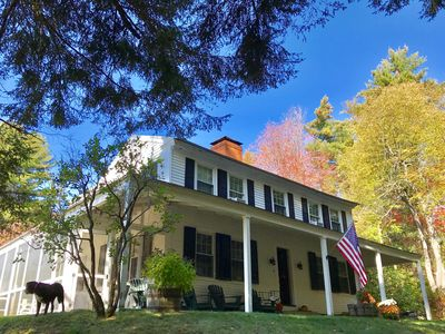 Friendly and Tasteful Country Home, convenient to Boston