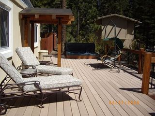 Incline Village house photo - Spacious Sunny Deck