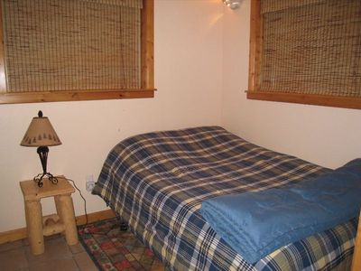 Brighton cabin rental - extra full bed in private small area