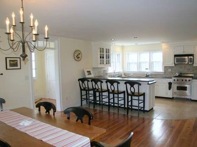 Kitchen and Dining Area (Sconset Rental)