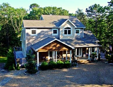 Vineyard Haven house rental - view of main house