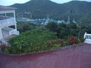 Drive Way Overlooking Marigot Bay - Marigot Bay villa vacation rental photo