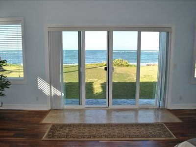 View of ocean from the Master Bedroom