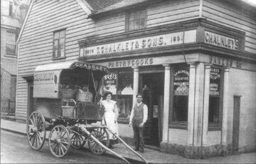 Historical view of The Old Bakery
