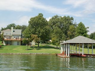 Moneta house photo - Allure, flat lot, private boat ramp, dock
