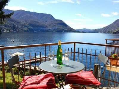 Stunning Lake Como Views from the balconies and living room and master bedroom.