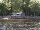 Salmon Point Cottage View from the Lake - Standish cottage vacation rental photo