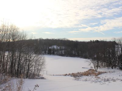 Winter is beautiful & fun at this Wisconsin hideaway. Great family getaway!