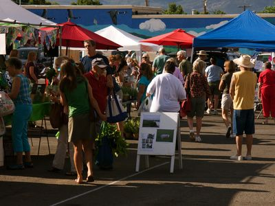 Cortez has a vibrant Farmer's Market every Saturday !