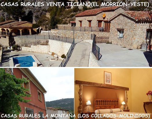 Casas Rurales La Montaña for 30 people