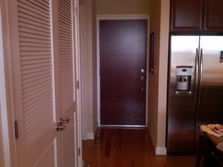 Logan Circle condo photo - Entry way (exits to secure hallway/elevator) w/ lovely hardwood floors thruout.
