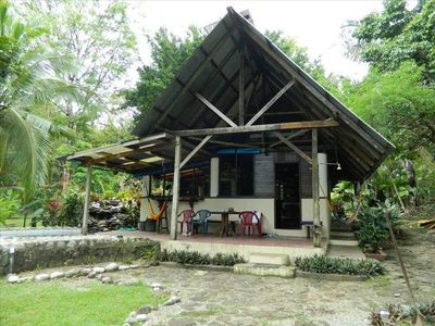 Beach front vacation rental on the osa vrbo for Vacation home rentals in costa rica