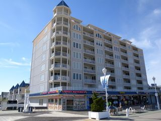 Belmont Towers Ocean City condo photo - Belmont Towers Building taken from Boadwalk