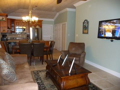 Great Exuma villa rental - living room