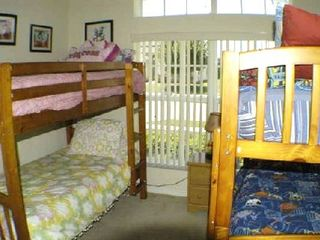 Liberty Village house photo - Third bedroom has 2 x bunks - Disney themed - sleeps 4 - has large closet