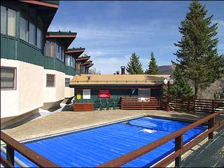 Aspen condo photo - Heated Pool at Shadow Mtn Condos