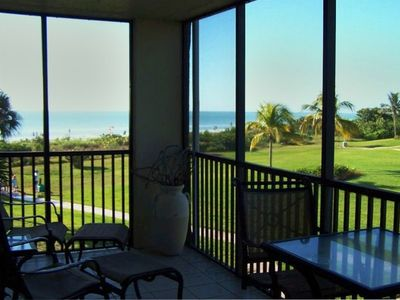 The beach front view from Loggerhead unit 522