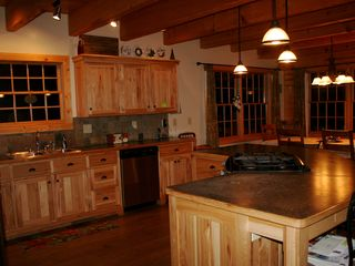 Lake City lodge photo - Fully equiped kitchen