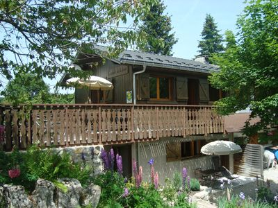 Lodgings in a cottage in The Féclaz, family resort