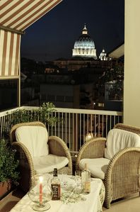 Prati (Vatican area) apartment rental - Terrace (1st side)