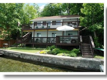 Penn Yan cottage rental - 2 large decks