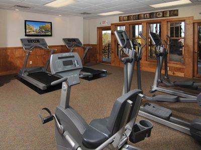 One of the fitness rooms