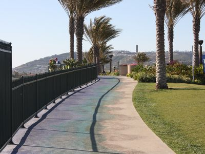 Dana Point condo rental - Walkway above Strands beach