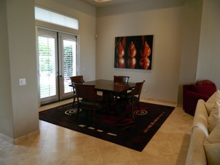 La Quinta house photo - Dining room. Table expands and there are more chairs.