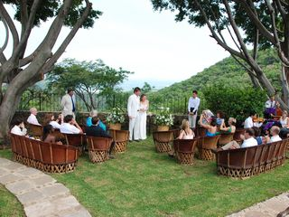 Tepoztlan estate photo - Garden wedding