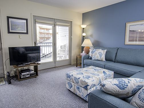Two bedroom condo with new furnishings and an outdoor pool