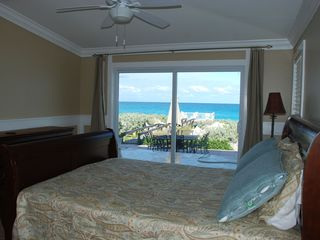 Great Exuma house photo - Alt view of Master with slider onto sun deck (with an amazing view!)