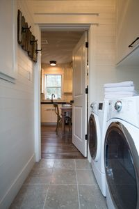 Laundry off of kitchen. Extra Large capacity