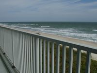 Luxurious oceanfront condo with sweeping views of the Atlantic Ocean.