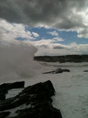 Ogunquit house photo - Rocks during hurricane Sandy