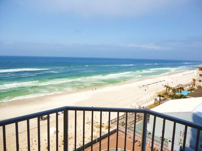 From your balcony! Breath Taking Views of the beach and the Gulf of Mexico!