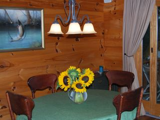 Norway cabin photo - Dining area with expandable table