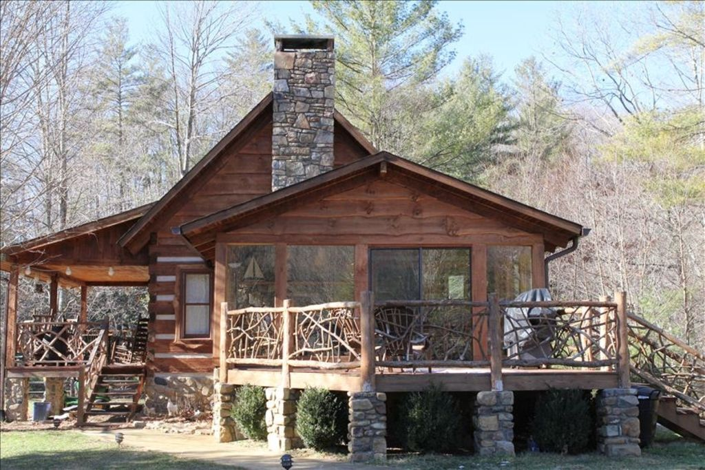 Mountain Magic Log Cabin Rental Vrbo