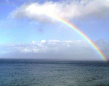 We see so many Rainbows and they are always special. Taken from the lanai